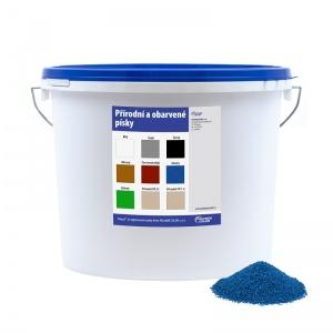 Obarvený písek modrý